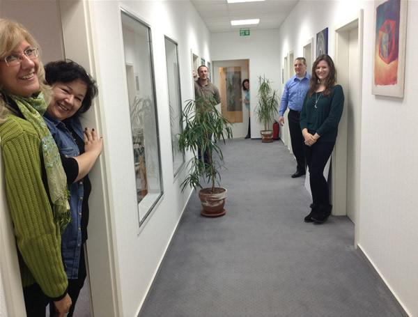 Das Büroteam von Aktion Neuanfang. Willkommen!